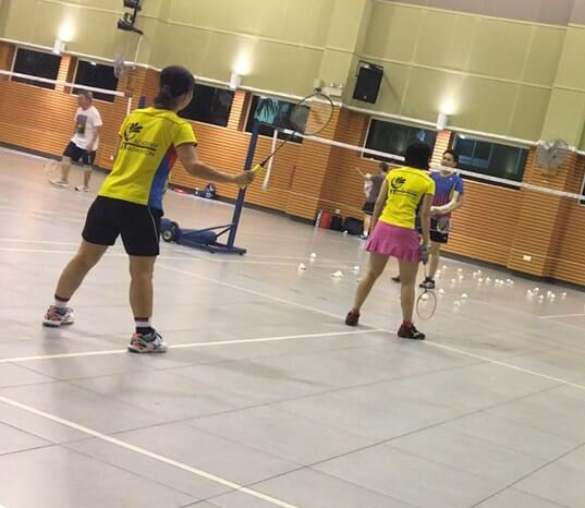 adult badminton training buona vista