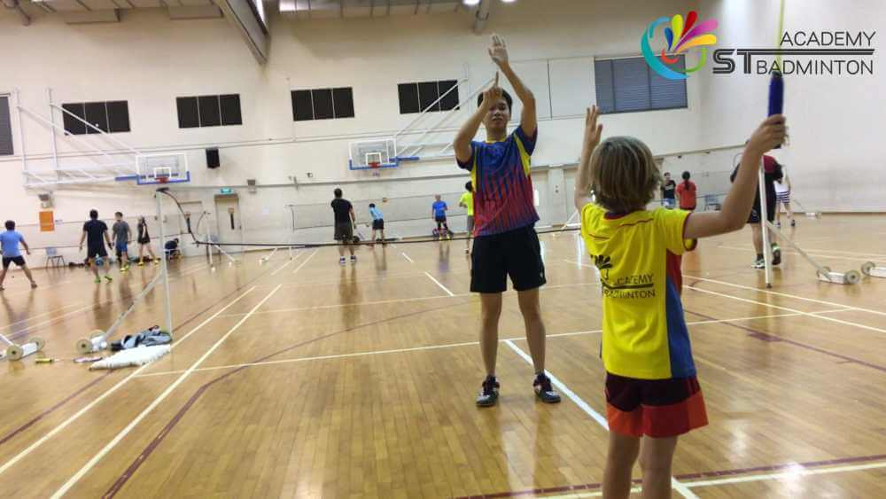 badminton class children badminton training mission succeed 6