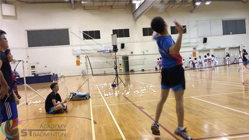 badminton coach singapore children badminton training mission succeed 8