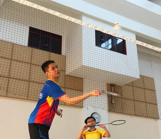badminton coach yishun children badminton class