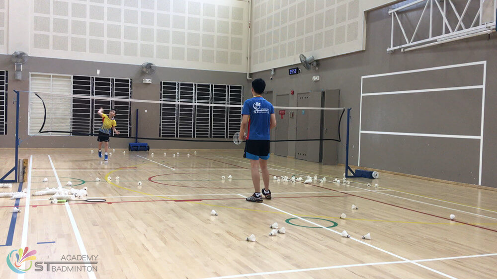 Badminton lessons