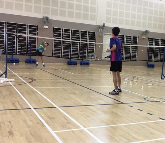 bukit batok badminton training classes children class