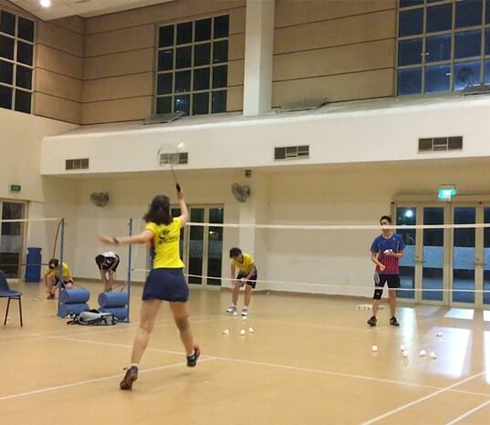 buona vista badminton training adult badminton