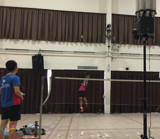clementi badminton training children badminton class