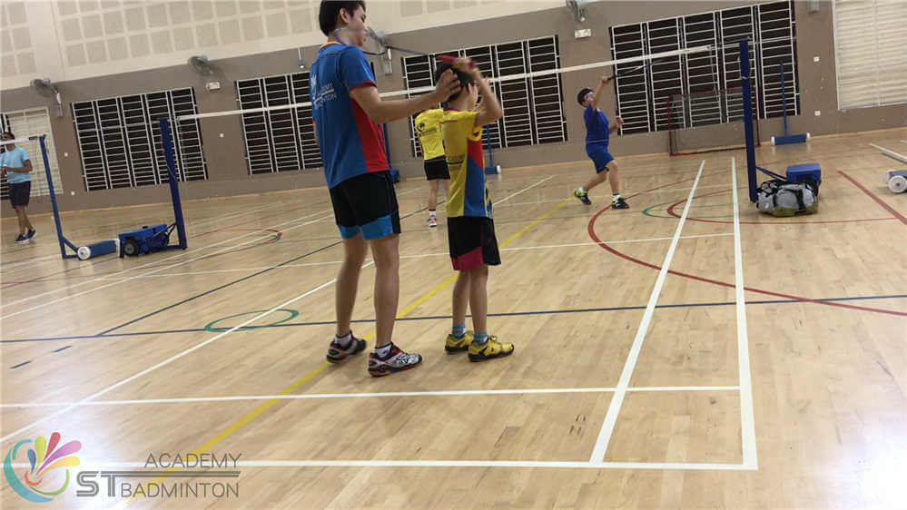 badminton lesson children badminton training mission succeed 3