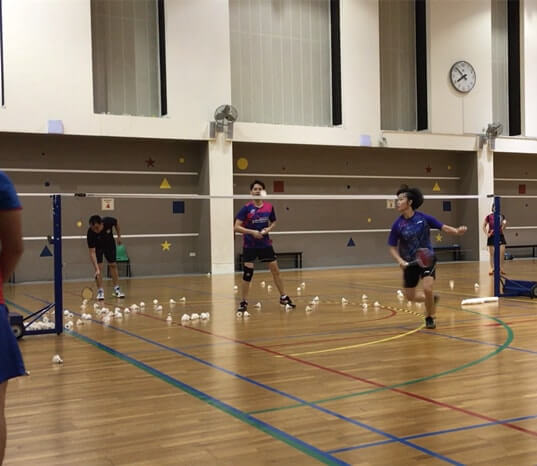 pek kio badminton training adult badminton training