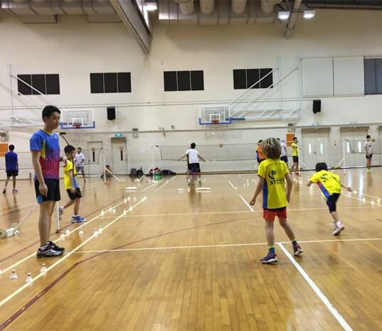 senja badminton class children badminton