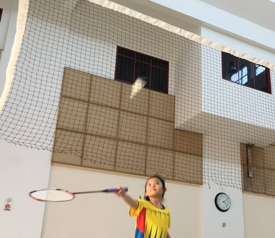 yishun girl group badminton training class yishun children