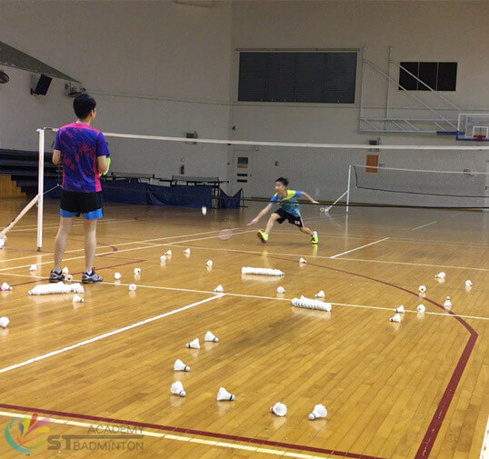 Badminton Class for kids - ST Badminton Academy Singapore