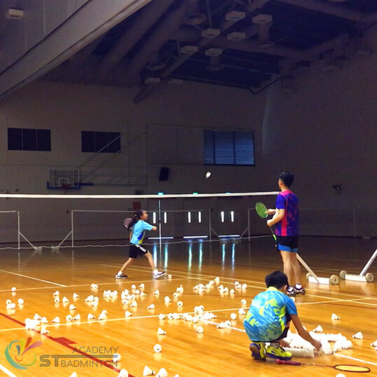 Badminton Training for Girl skill development