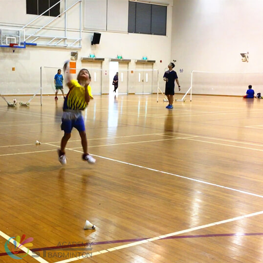 Badminton Training for kids