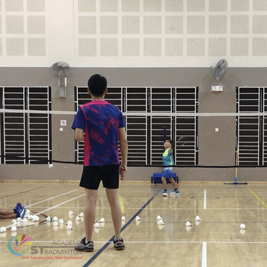 Bukit batok badminton class for children beginner ST Badminton Singapore