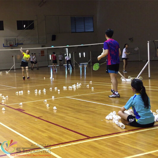 badminton training for adult in bukit panjang by st Badminton Academy