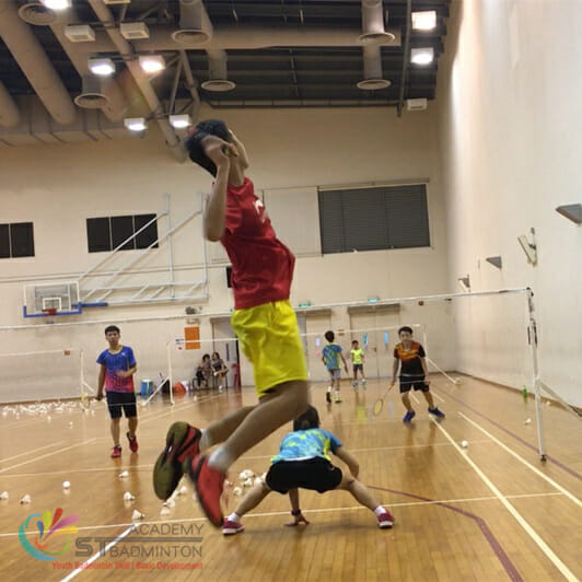 Eric Chuar - Badminton Coaching Singapore STBA
