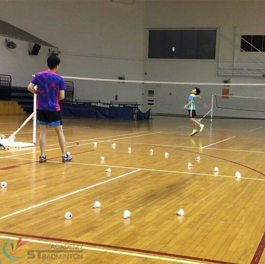 Badminton Classes for kids in Choa Chu Kang Senja Singapore by ST Badminton Academy