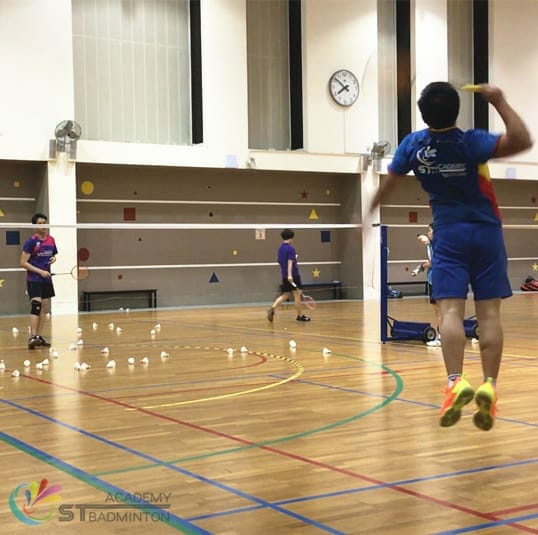 Badminton Coaching for adult in Jurong Singapore - STBA
