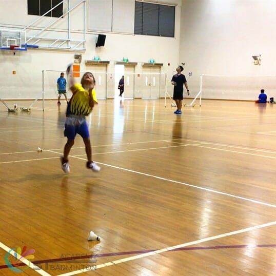 Badminton training for kids in Choa Chu Kang - ST Badminton Academy SG