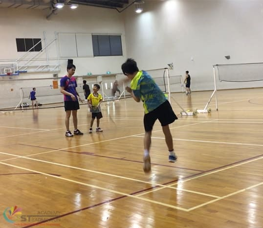 Badminton Classes for Kids Jurong - ST Badminton Academy Singapore