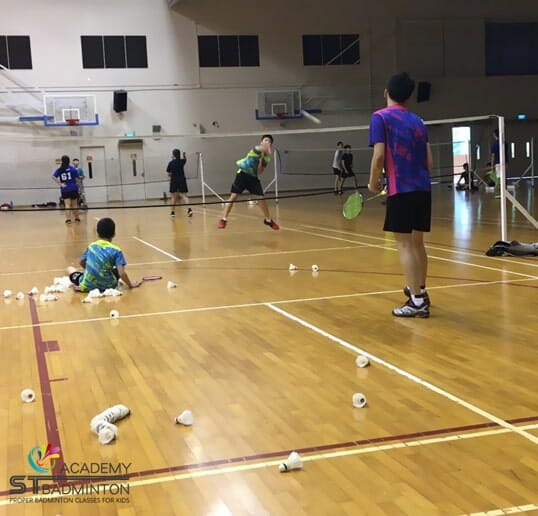 Badminton Training Choa Chu Kang for kids by ST Badminton Academy SG 2021
