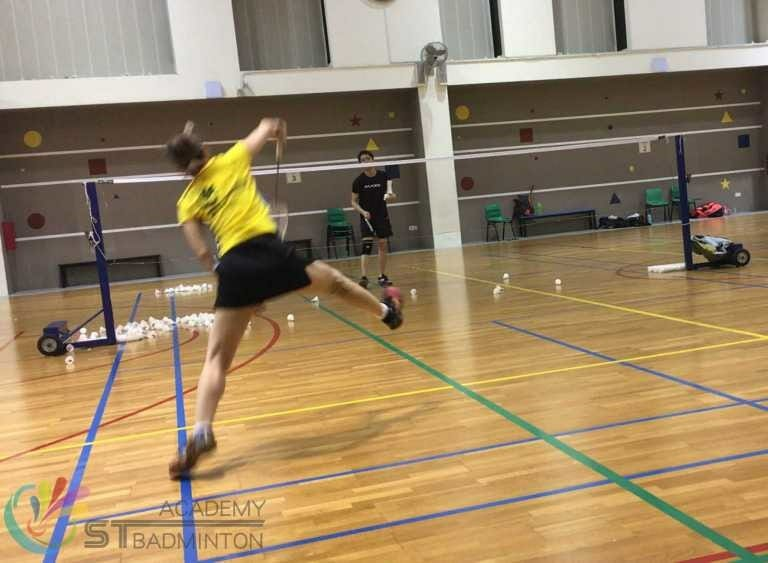 Badminton Training for adults by ST Badminton Academy Jurong Singapore 2021