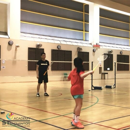 Badminton Training for children in Jurong by ST Badminton Academy Jurong SG 2021
