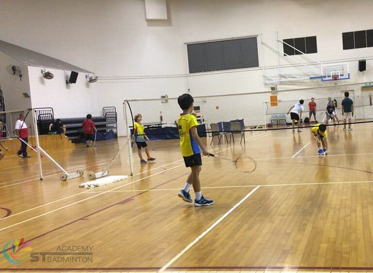 Badminton Training for kids Jurong by ST Badminton Academy Jurong Singapore 2021