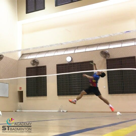 Badminton Training in Jurong west for school team by ST Badminton Academy Jurong SG 2021
