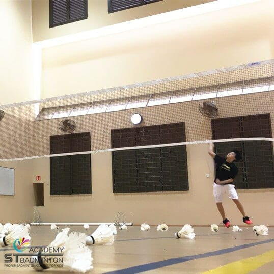 Badminton Training in Westwood Secondary by ST Badminton Academy Jurong SG 2021